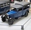 Peugeot 201T Boulangère entre 1931 et 1933 moteur 1122cc charge max 750 kg vit max 60kmh puissance 23ch.JPG