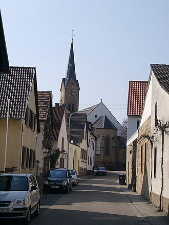 Ruppertsberg - Parish church in Ruppertsberg