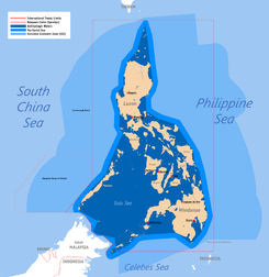 Exclusive Economic Zone Wikipedia - Economic zones southeast asia map