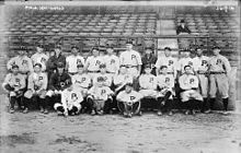 Team photograph of the 1915 Philadelphia Phillies