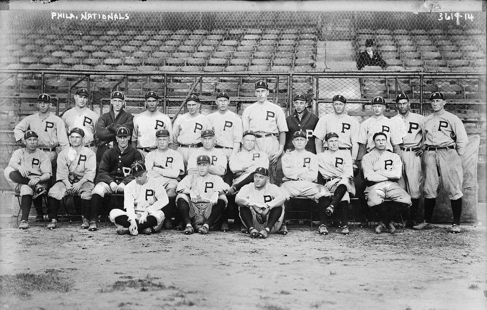 Philadelphia NL World Series team (baseball) (LOC)