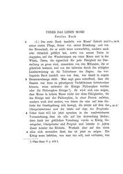 Ueber das Leben Mosis II