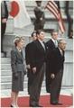 Photograph of The Reagans and Japanese Emperor Hirohito, Tokyo, Japan - NARA - 198544.tif