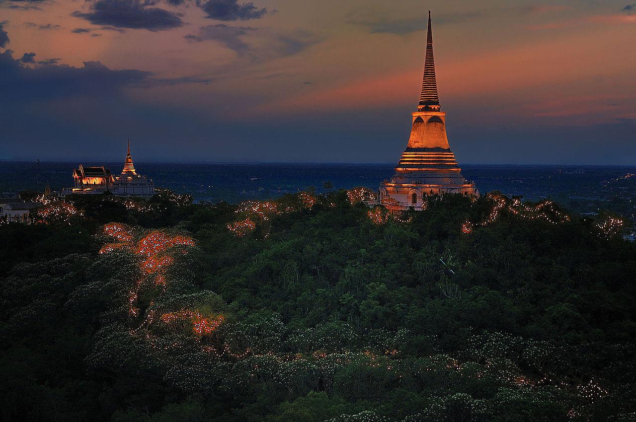 File:Phranakornkiri Historical Park, Petchburi, Thailand ...