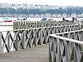 Pier in the Wetlands - geograph.org.uk - 1423522.jpg