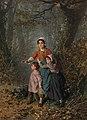 Pierre Jean Edmond Castan - Children gathering firewood (1888).jpg