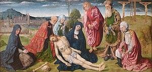 Pietà of saint germain les pres