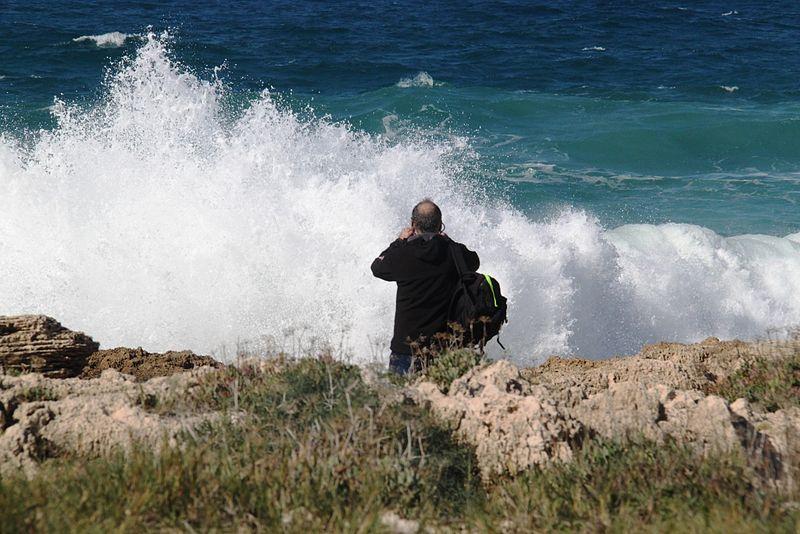 שמורת חוף הבונים - דייג