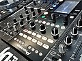 Pioneer DJM-2000 Nexus 4ch mixer with color touch panel, viewed from rear (2017-04-12 @pxhere 1390210).jpg