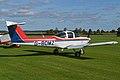 Piper PA38-112 Tomahawk 'G-BOMZ' (12307306456).jpg