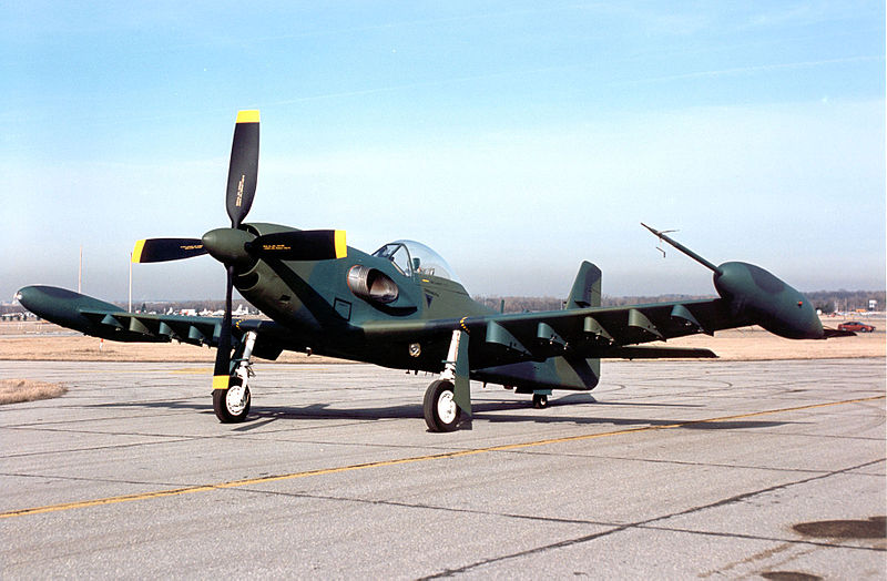 Support the Beech AT-6 Texan II 800px-Piper_PA48_Enforcer_USAF