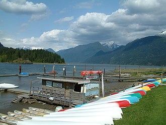 Pitt Lake - Pitt Lake BC