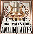 Placa artística de la calle del Maestro Vives (cropped).JPG