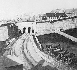 Place D'Youville (Quebec) - Place d'Youville in 1870