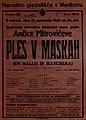 Plakat za predstavo Ples v maskah v Narodnem gledališču v Maribor 21. januarja 1928.jpg
