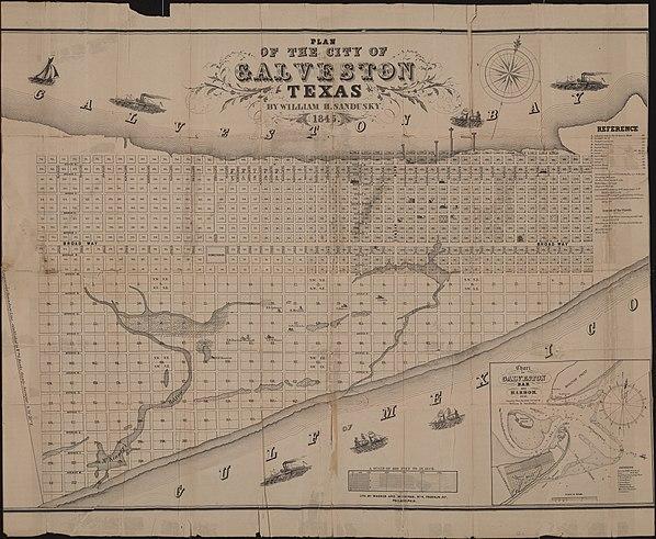 Plan of the City of Galveston, Texas