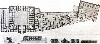 Plan of the medieval trade complex in Old City Baku.jpg