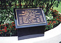 Plaque commemorating the Marine and 4 MPs who died defending the U.S. Embassy Saigon on 31 January 1968.jpg