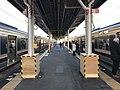 Platform of Tarumi Station (Sanyo Main Line).jpg