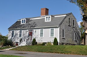 Clifford–Warren House - Image: Plymouth MA Clifford Warren House