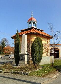 Plzeň, Červený Hrádek, chapel.jpg