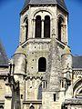 Poissy (78), collégiale Notre-Dame, clocher central, vue depuis le sud.jpg