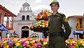 Policía Nacional garantiza la seguridad en la Feria de las Flores Medellin 2014. ESCER Escuela de Policía Carlos Eugenio Restrepo (14779731426).jpg