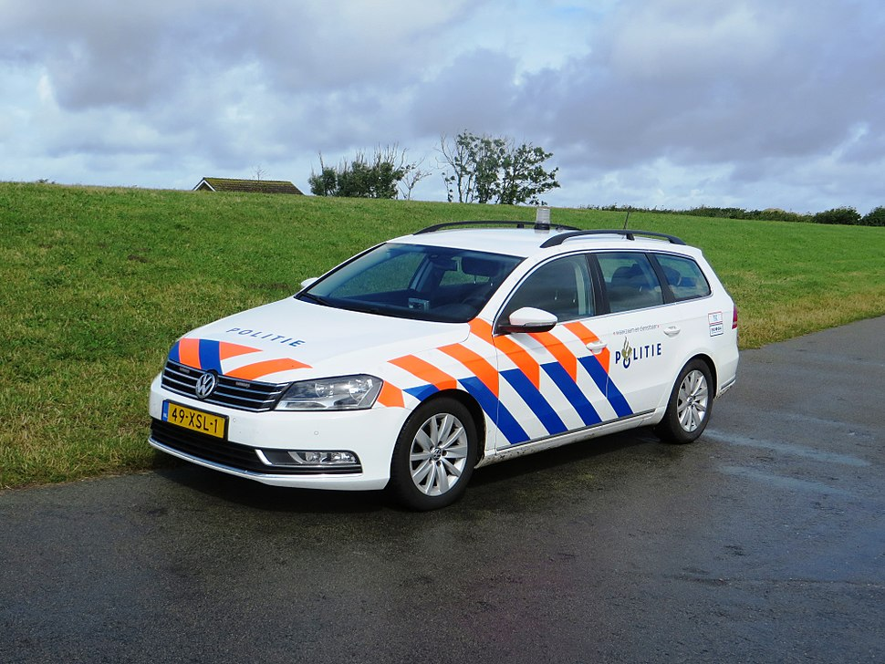 Police car on Terschelling 02