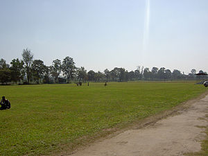 Polo - Old polo field in Imphal, Manipur