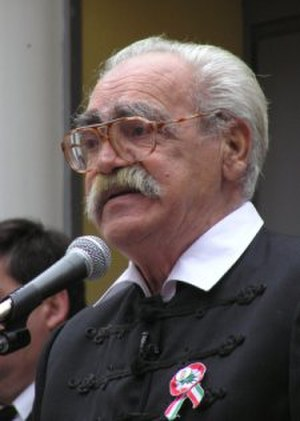 Jobbik - Hungarian Revolution of 1956 veteran Gergely Pongrátz, a Jobbik founder