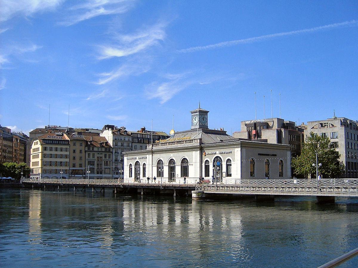 Pont de la machine wikip dia - Office cantonal de la navigation geneve ...