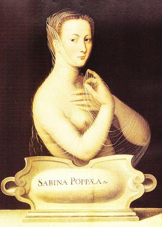 L'incoronazione di Poppea - Poppea, represented in a 16th-century painting