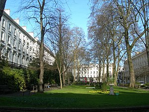 Porchester Square - Image: Porchester Square Gardens geograph.org.uk 363441