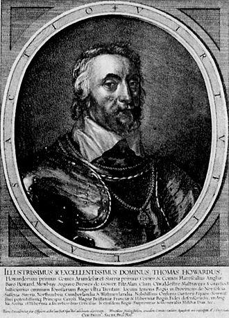 Thomas Howard, 5th Duke of Norfolk - Image: Portraet Thomas Howard Earl of Arundel Wenzel Hollar
