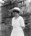 Portrait, hat, woman Fortepan 5826.jpg