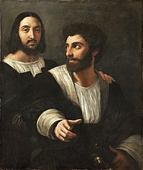Raphael: Self-portrait with a friend