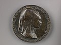 Portrait medal of Isotta degli Atti (obverse); An Elephant (reverse) MET SLP1284r.jpg