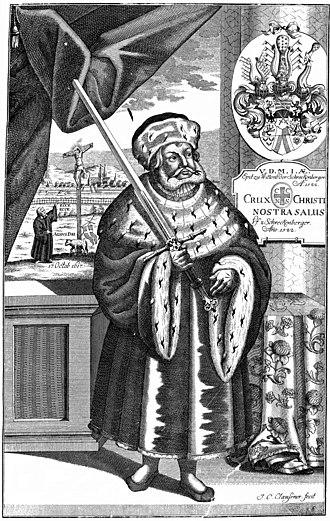 Frederick III, Elector of Saxony - Portrait of Frederick III of Saxony (17th Century)