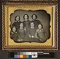 Portrait of unidentified group of young women - girl's school class portrait (?) (4419916755).jpg