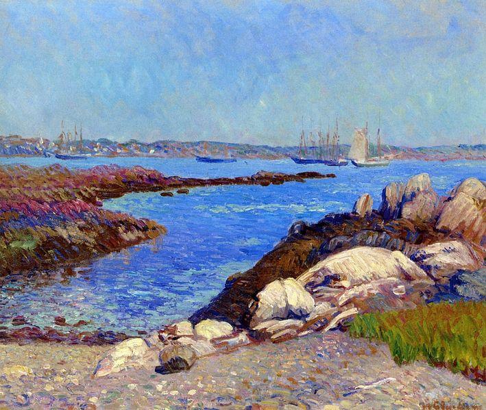 File:Portsmouth Harbor New Hampshire William James Glackens.jpeg