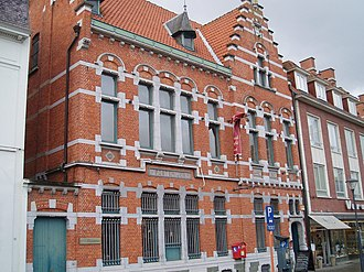 Herentals - Image: Postgebouw