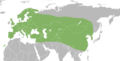 Potosia cuprea distribution map.png