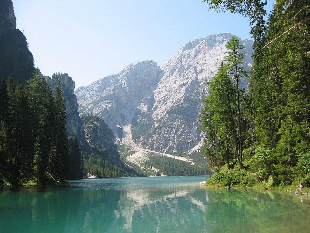 Lago Di Braies  Wikipedia