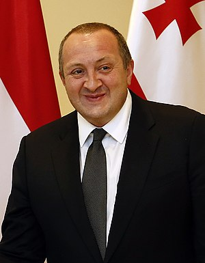 President of Georgia - Image: Prasidenten Margvelashvili (cropped)