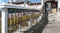 Prayer's Wheels, Tibetan Temple at Jade Dragon Snow Mountain - panoramio.jpg