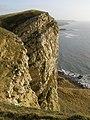 Precipice, Gad Cliff - geograph.org.uk - 645140.jpg