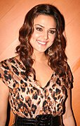 Preity Zinta at the Jaan-E-Mann and UFO tie-up party (2006)