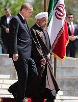 President Hassan Rouhani welcomes Turkish President Recep Tayyip Erdoğan in Saadabad Palace 02.jpg