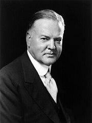 President Hoover portrait