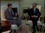 File:President Reagan Meeting with Prime Minister Shimon Peres of Israel, October 9, 1984.webm